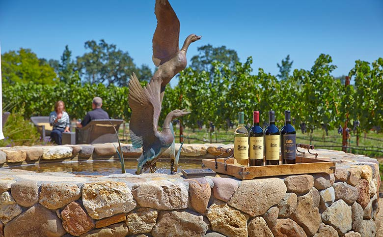 Duckhorn Vineyard Fountain