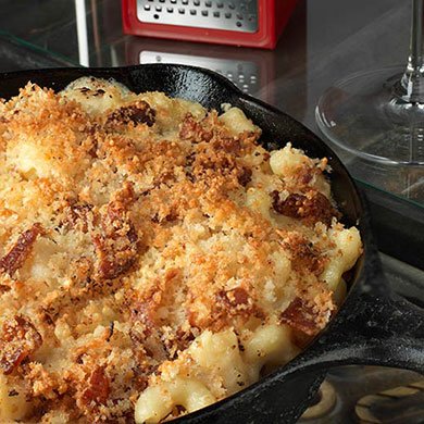 Smoked Bacon Mac n' Cheese