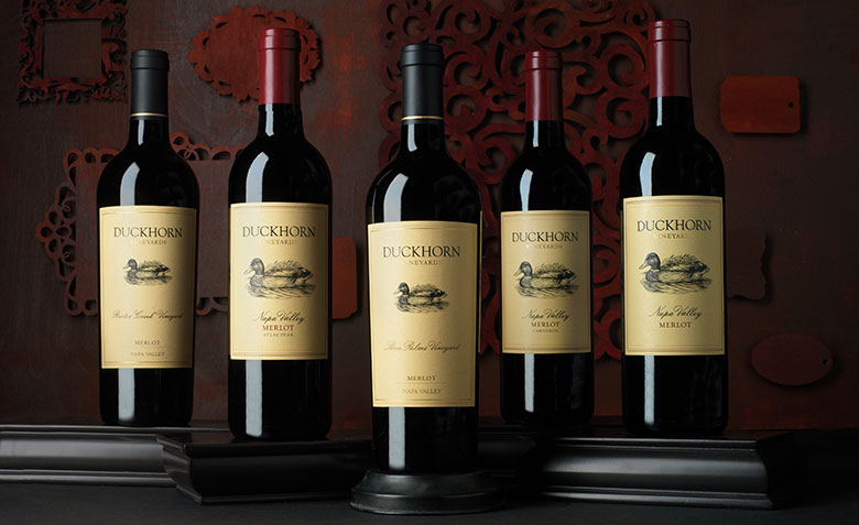 Duckhorn Vineyards luxury Merlot