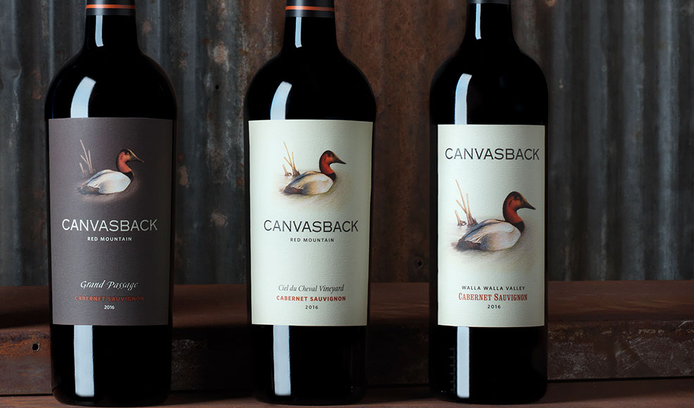 Canvasback Wines for their fall release weekend