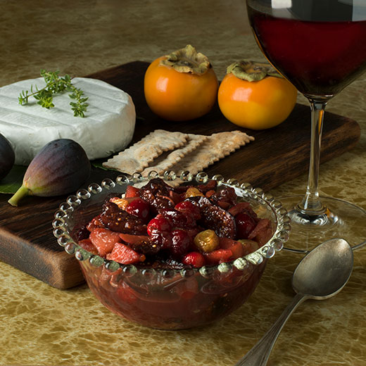 Fig and Cranberry Chutney