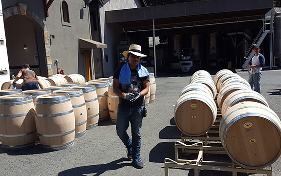 Prepping the Barrels