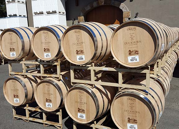 French Oak barrels