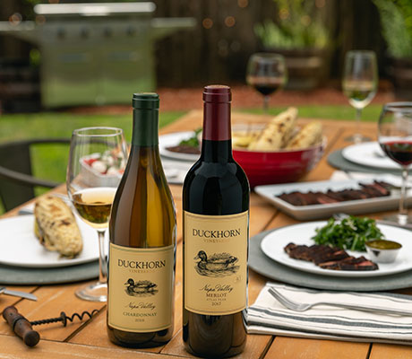 Duckhorn Vineyards wines paired with chicken