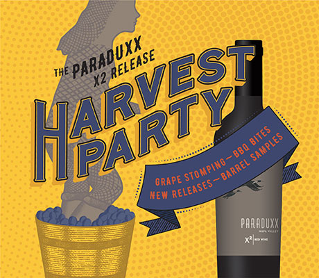 Harvest Party at Paraduxx