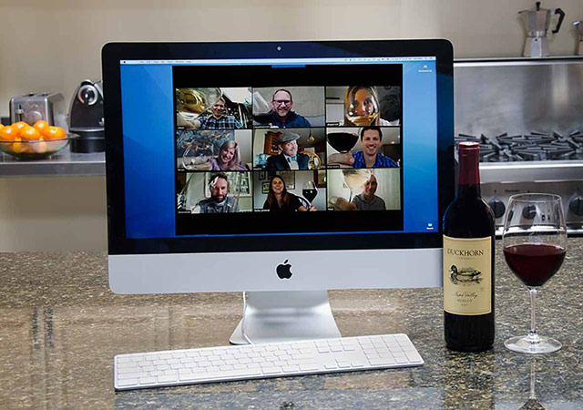 duckhorn virtual tasting