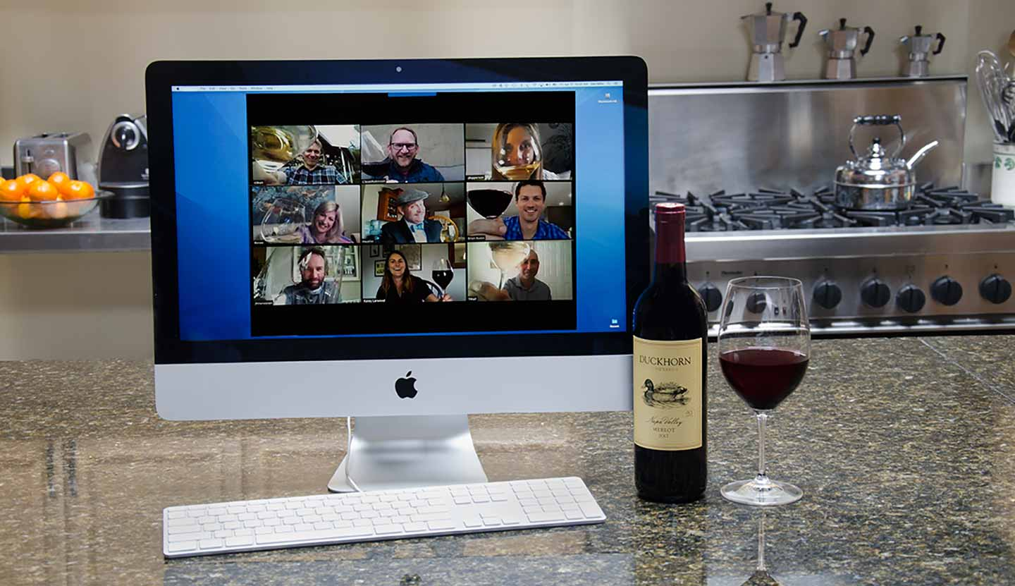 Virtual Wine Tasting Duckhorn