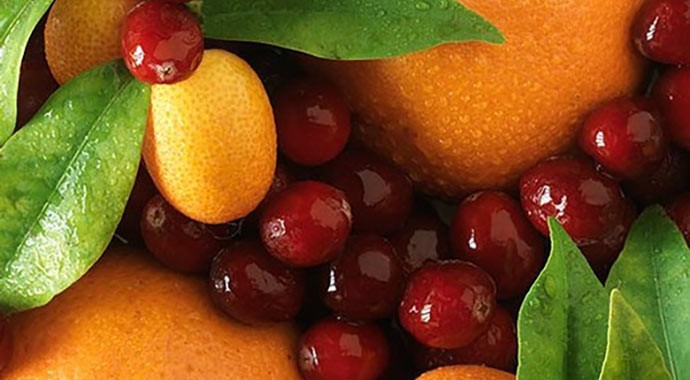 Recipe for fresh cranberry and orange sauce