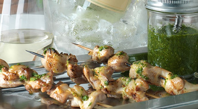Grilled Chicken with Chimichurri recipe