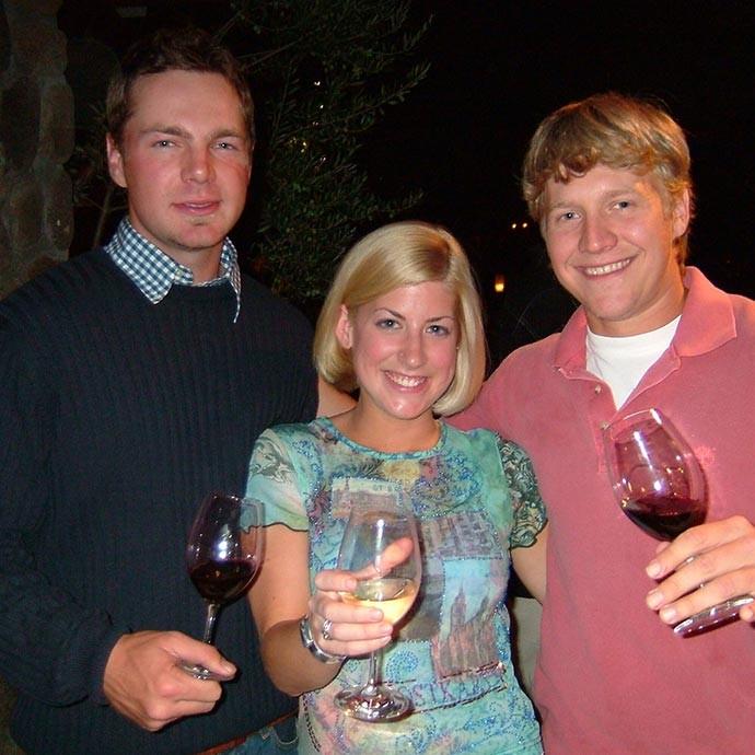 Winemaker Renee Ary in 2003