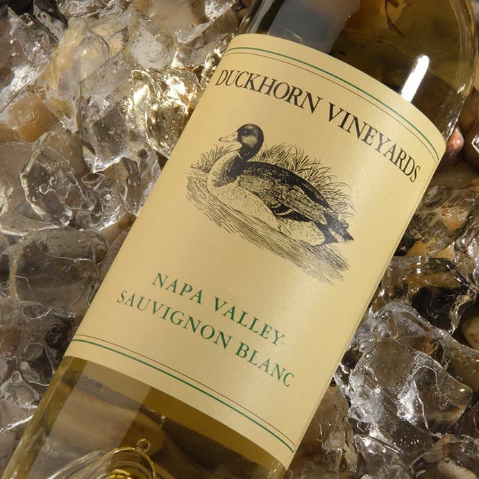 The first vintage of Duckhorn Sauvignon blanc on ice