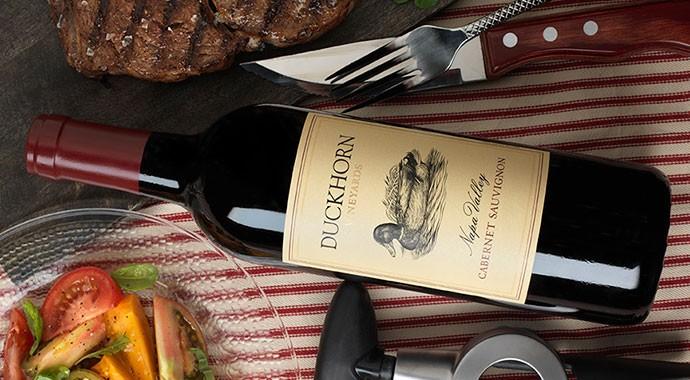 Steak and Duckhorn Cabernet pairing