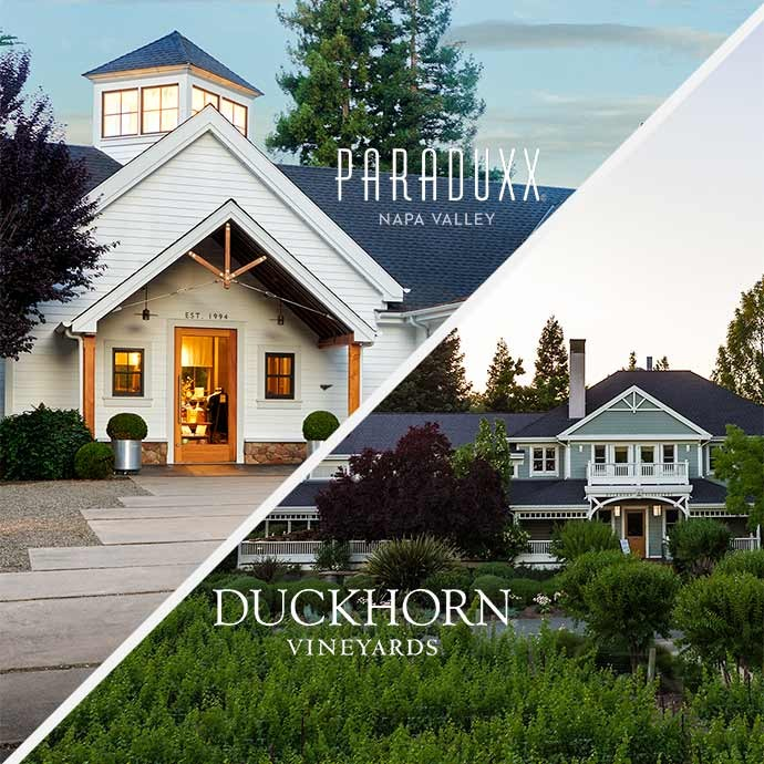 Two Duckhorn property images to visit in one day