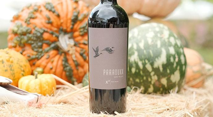 wine bottle of Paraduxx X2