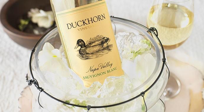 Duckhorn Sauvignon Blanc in Ice Bucket