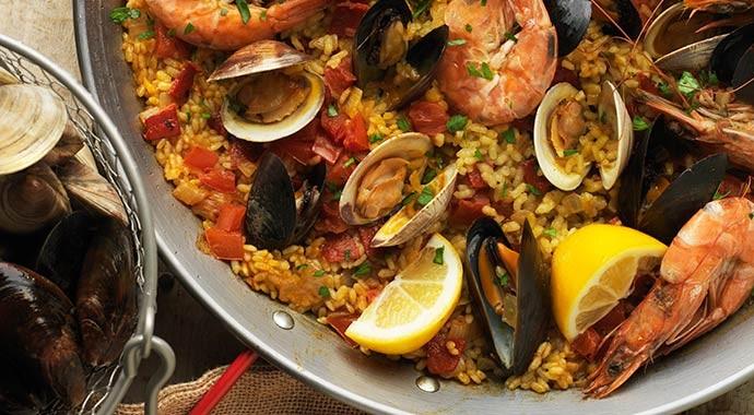 Seafood Paella Pan